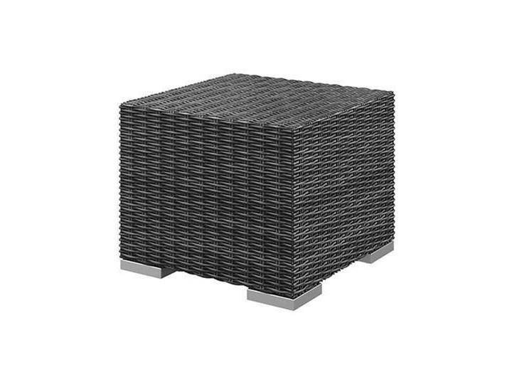 Meble ogrodowe MILANO IV royal szary Aluminium Tworzywo sztuczne Technorattan Zestawy wypoczynkowe Styl Nowoczesny