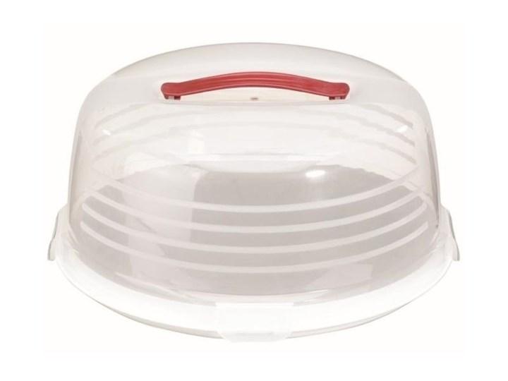 Okrągły pojemnik na tort ciasto Curver Na ciasta Na lunch Kategoria Pojemniki i puszki Typ Pojemniki