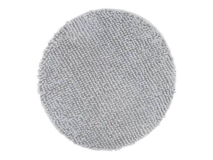 Dywanik łazienkowy Opal, okrągły, 70cm Kategoria Dywaniki łazienkowe Kolor Szary