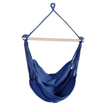 Krzesło brazylijskie wiszące DUKA MOLN 100x85 cm niebieskie