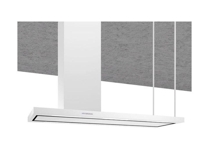 Okap wyspowy Metropolis White 116 cm Szerokość 146 cm Kolor Biały Poziom hałasu 35 dB