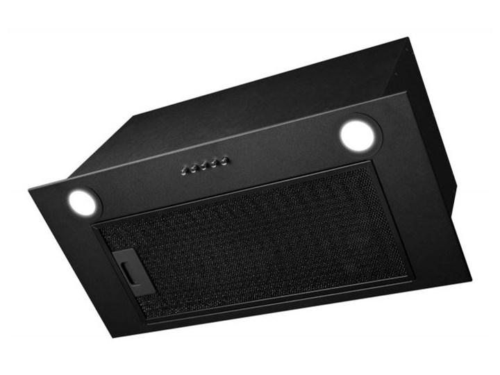 Okap podszafkowy Aris Eco Black 59,5 cm Okap do zabudowy Sterowanie Mechaniczne