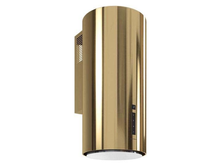 Okap kuchenny Heweno 39.2 Light Gold Poziom hałasu 63 dB Okap przyścienny Poziom hałasu 69 dB
