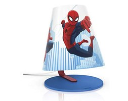 Lampa dziecięca stołowa LED Spiderman 71764/40/16 Philips_DARMOWA DOSTAWA !!!