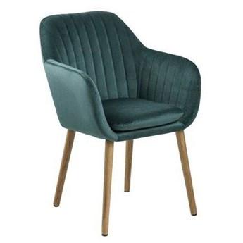 Zielone pikowane krzesło - Tristo 4X