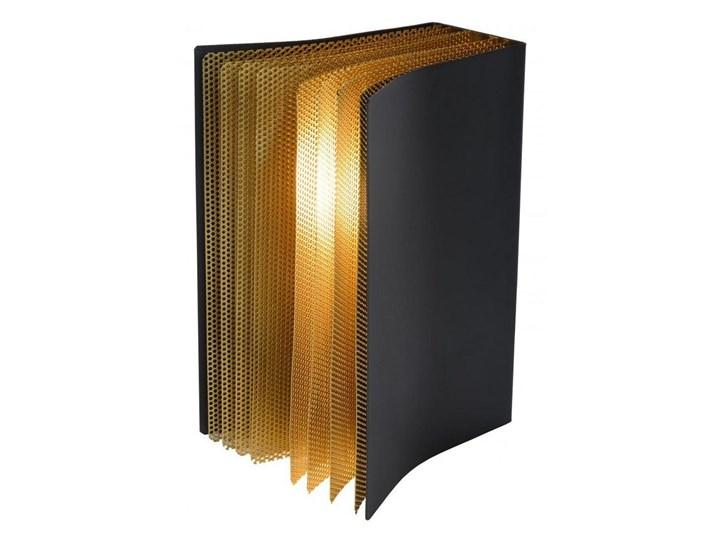 Lucide 78596/01/30 - Lampa stołowa LIVRET 1xE14/40W/230V Kategoria Lampy stołowe Wysokość 22 cm Kolor Czarny