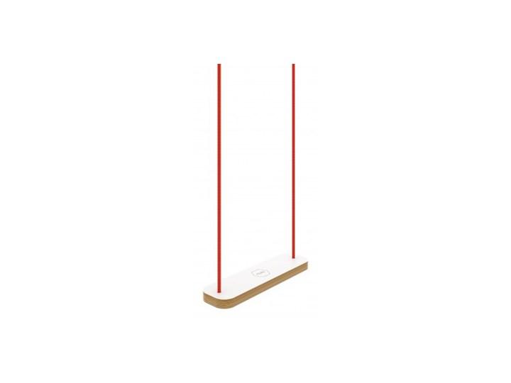 HUŚTAWKA PROSTOKĄT biała Trapez Drewno Kategoria Huśtawki dla dzieci