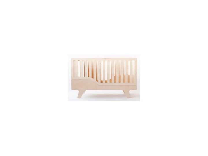 ŁÓŻECZKO DREAM naturalne Płyta MDF Łóżeczka drewniane Rozmiar materaca 70x140 cm