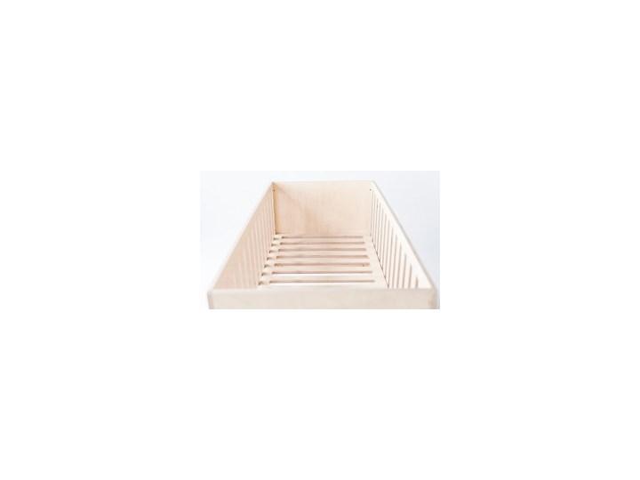 ŁÓŻECZKO DREAM naturalne Łóżeczka drewniane Rozmiar materaca 70x140 cm Płyta MDF Kategoria