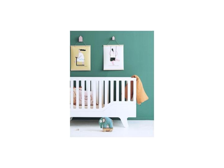 ŁÓŻECZKO DREAM białe Łóżeczka drewniane Rozmiar materaca 70x140 cm Płyta MDF Kolor Biały