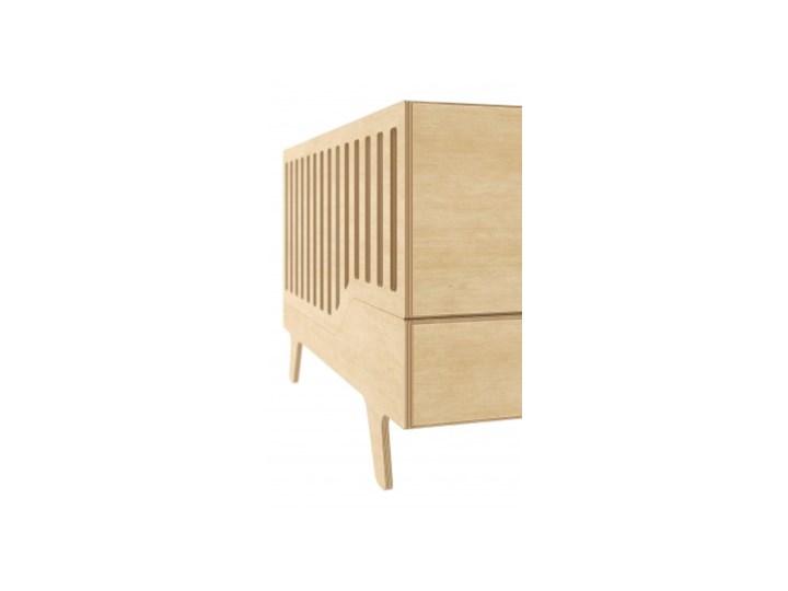 ŁÓŻECZKO DREAM naturalne Rozmiar materaca 70x140 cm Łóżeczka drewniane Płyta MDF Kategoria
