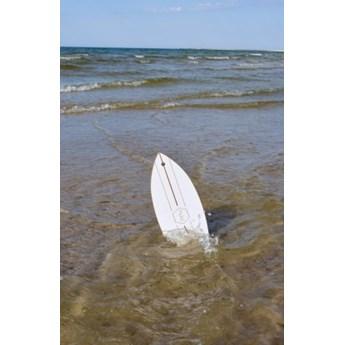 HUŚTAWKA SURF biała