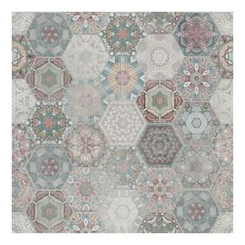 Gres Patchwork Hexagon 60 x 60 cm multikolor 1,44 m2