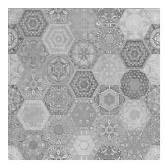 Gres Patchwork Hexagon 60 x 60 cm szary 1,44 m2