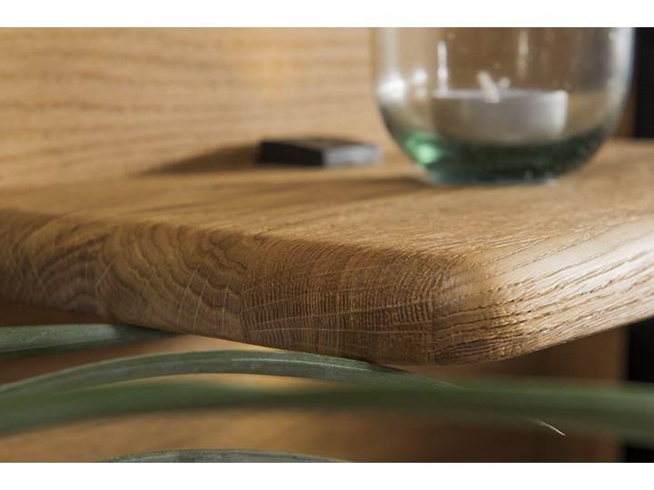Łóżko dębowe Orio z zagłówkiem i  stelażem Soolido Meble Łóżko drewniane Kategoria Łóżka do sypialni