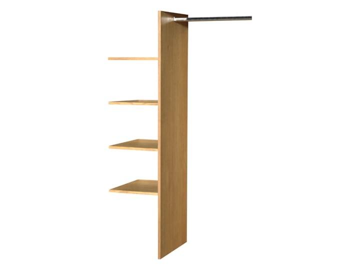 Szafa 3d dębowa Orio do sypialni Soolido Meble Drewno Pomieszczenie Sypialnia