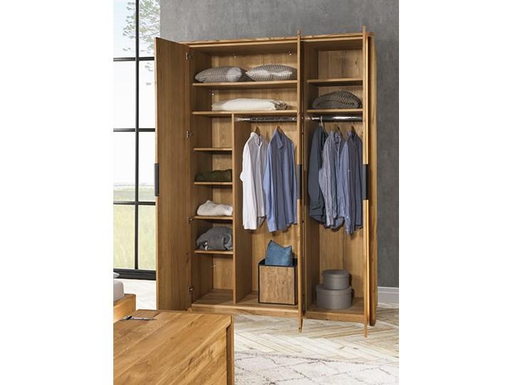 Szafa 3d dębowa Orio do sypialni Soolido Meble Drewno Kategoria Szafy do garderoby