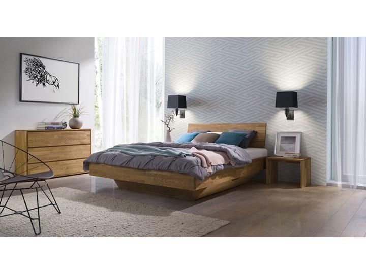 Łóżko dębowe FLOW Classic (140x200) Soolido Meble Łóżko drewniane Kolor Brązowy