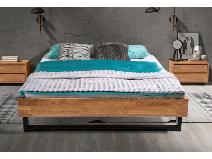 Łóżko dębowe FADO Classic  (160x200) Soolido Meble Łóżko drewniane Kategoria Łóżka do sypialni Kolor Brązowy