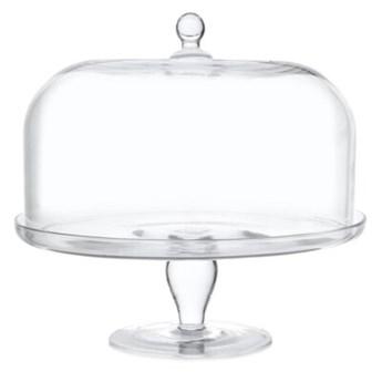 GLASS PATERA ŚR. 31CM