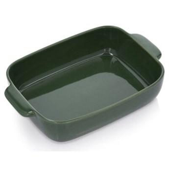 Forma naczynie do pieczenia DUKA SPARRIS 33x22 cm zielony ceramika