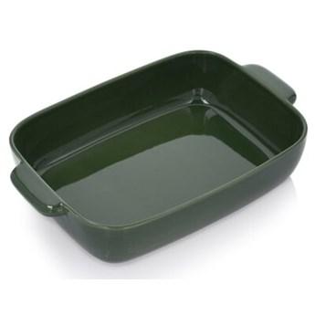 Forma naczynie do pieczenia DUKA SPARRIS 40x27 cm zielony ceramika