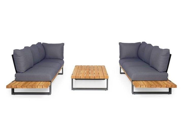 Zestaw sof na taras NARDO III antracyt Drewno Aluminium Kategoria Zestawy mebli ogrodowych