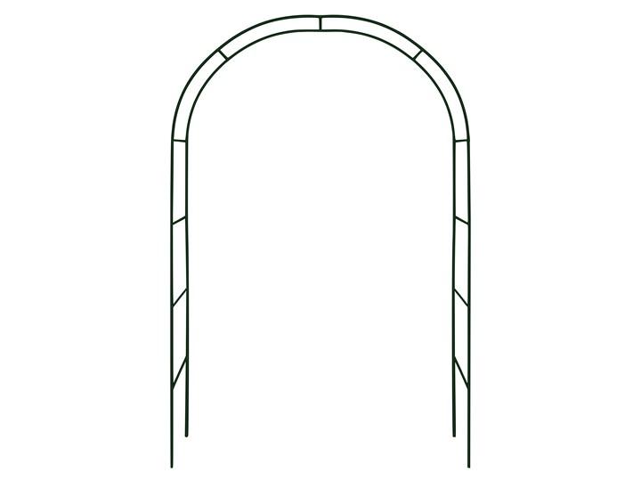 Pergola metalowa - łuk Kategoria Pergole Stal Wysokość 240 cm Kolor Czarny