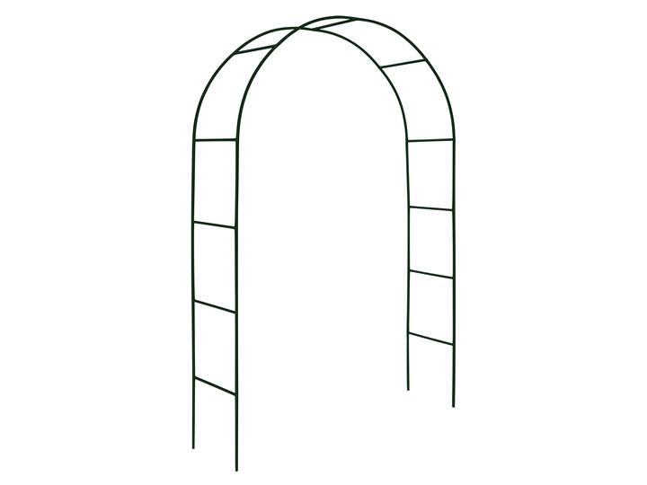 Pergola metalowa - łuk Wysokość 240 cm Stal Kategoria Pergole Kolor Czarny