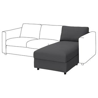 IKEA VIMLE Sekcja leżanka, Hallarp szary, Głębokość: 164 cm