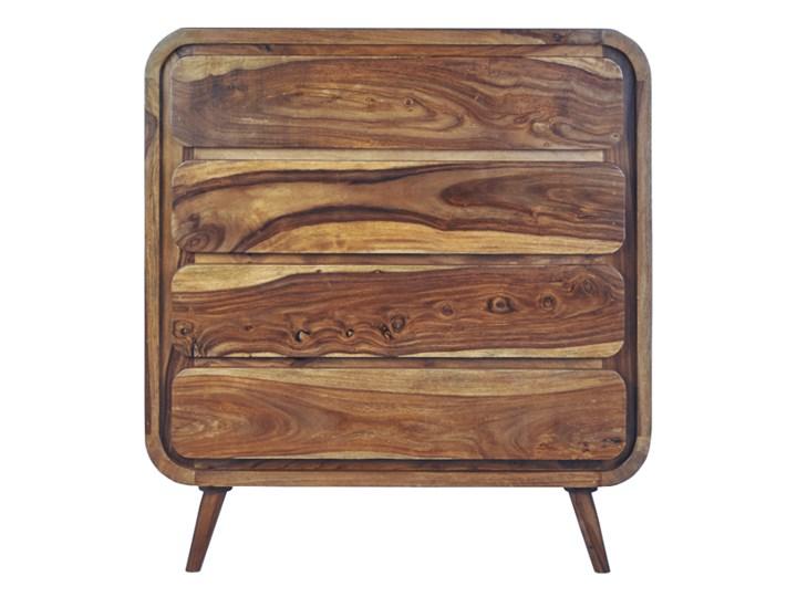 Komoda HANKA (Karmel) Szerokość 85 cm Drewno Pomieszczenie Salon Wysokość 90 cm Styl Nowoczesny