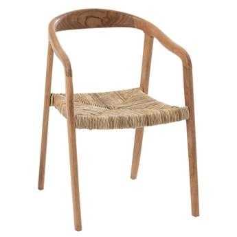 Krzesło Zuri z drewna tekowego