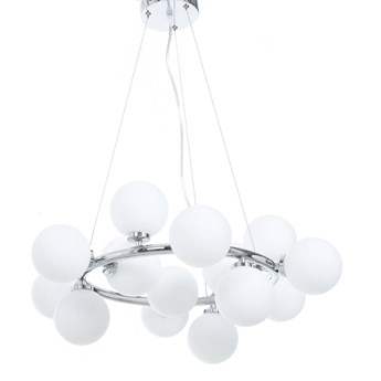 NOWOCZESNA LAMPA WISZĄCA CHROMOWANA MARSIADA W15