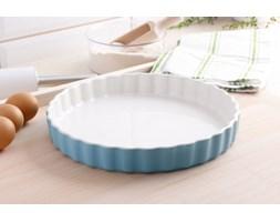 Naczynie ceramiczne do tarty LIGHT BLUE