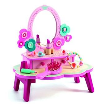 Dziecięca drewniana toaletka Djeco Flora