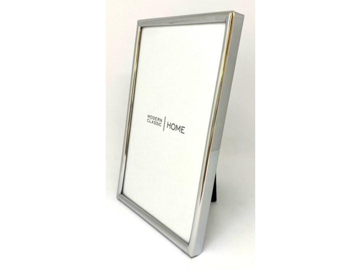 POPIERSIE DEKORACYJNE BIAŁE HELENA 12x11x31CM Kolor Srebrny Metal Ramka na zdjęcia Kategoria Ramy i ramki na zdjęcia