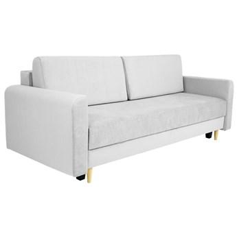 Nowoczesna sofa z funkcją spania ELIZA w kolorze szarym