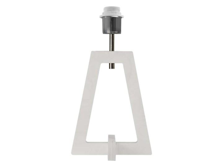 LAMPA NA STOLIK TERIO WALEC BRILL Drewno Lampa z abażurem Tworzywo sztuczne Wysokość 47 cm Pomieszczenie Sypialnia