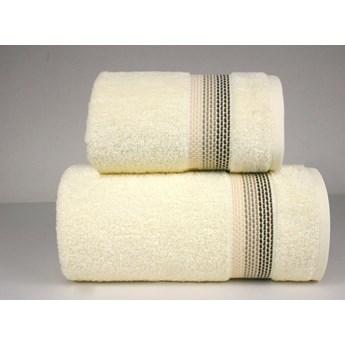 Komplet ręczników na prezent Frotex Ombre Kremowy