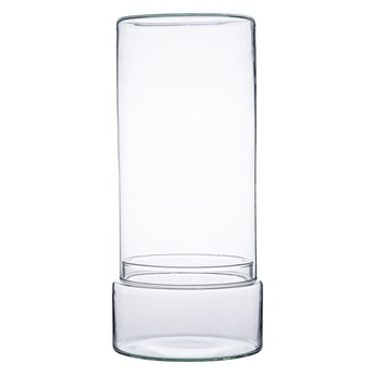 Szklane terrarium W-592I+W-592A4 H:33cm D:15cm