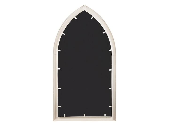 Lustro ścienne wiszące białe kształt okna nowoczesne łazienka salon Lustro z ramą Nieregularne Styl Nowoczesny Styl Vintage