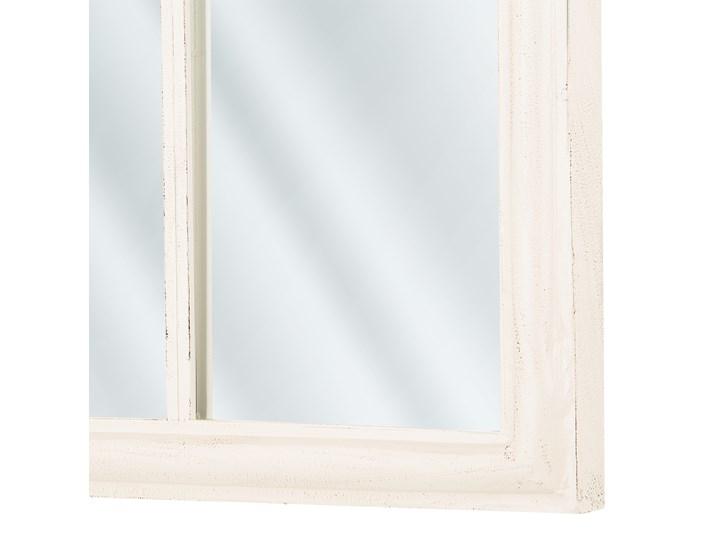 Lustro ścienne wiszące białe kształt okna nowoczesne łazienka salon Lustro z ramą Nieregularne Styl Klasyczny