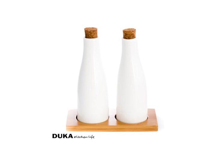 Porcelanowy zestaw do oliwy i octu Ceramika Pojemnik na ocet i oliwę Zestaw do przypraw Kategoria Przyprawniki
