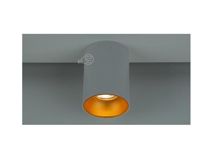 Punktowa oprawa sufitowa natynkowa ZAMA White Gold GU10 okrągła biała, środek złoty IP20 EDO777342 EDO Oprawa stropowa Kolor Biały Okrągłe Kategoria Oprawy oświetleniowe