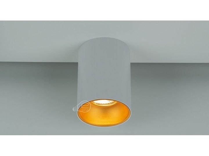 Punktowa oprawa sufitowa natynkowa ZAMA White Gold GU10 okrągła biała, środek złoty IP20 EDO777342 EDO Okrągłe Oprawa stropowa Kolor Biały Kategoria Oprawy oświetleniowe