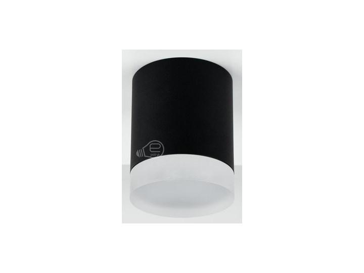 Punktowa oprawa sufitowa natynkowa ZIRA GU10 okrągła czarna, pierścień biały mrożony EDO777340 EDO Kolor Czarny Okrągłe Oprawa stropowa Kategoria Oprawy oświetleniowe