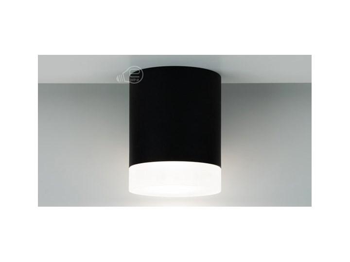 Punktowa oprawa sufitowa natynkowa ZIRA GU10 okrągła czarna, pierścień biały mrożony EDO777340 EDO Okrągłe Kolor Czarny Oprawa stropowa Kategoria Oprawy oświetleniowe