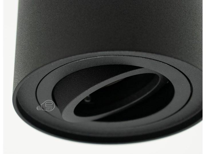 Punktowa oprawa sufitowa natynkowa SKAND 1 Black GU10 IP20 okrągła czarna EDO777100 EDO Oprawa stropowa Okrągłe Kolor Czarny