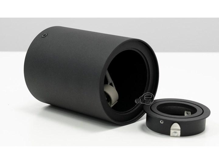 Punktowa oprawa sufitowa natynkowa SKAND 1 Black GU10 IP20 okrągła czarna EDO777100 EDO Oprawa stropowa Okrągłe Kolor Czarny Kategoria Oprawy oświetleniowe