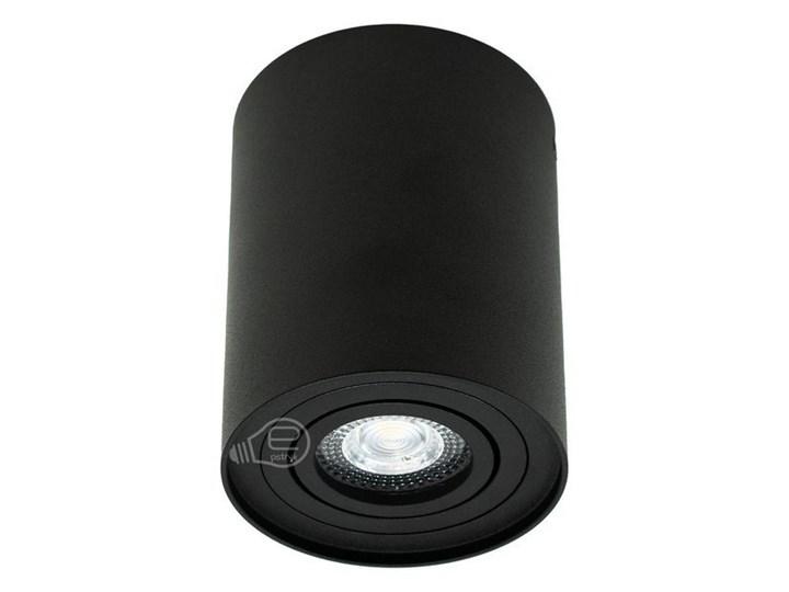 Punktowa oprawa sufitowa natynkowa SKAND 1 Black GU10 IP20 okrągła czarna EDO777100 EDO Okrągłe Oprawa stropowa Kolor Czarny